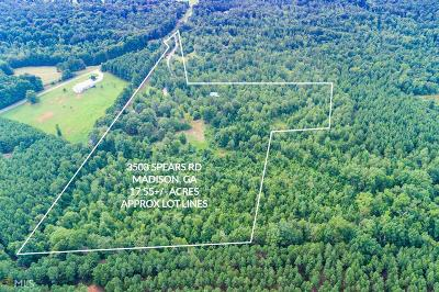 Madison Residential Lots & Land New: 3508 Spears Rd