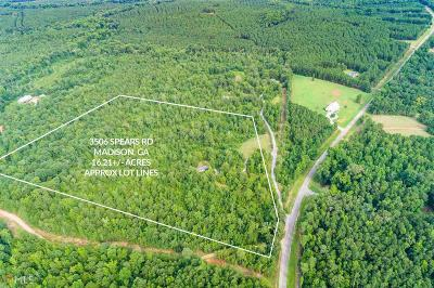 Madison Residential Lots & Land New: 3506 Spears Rd