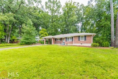 Decatur Single Family Home New: 2180 Leafmore Dr