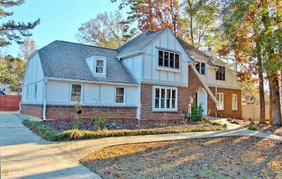 Peachtree City Single Family Home Under Contract: 105 Putmans Head