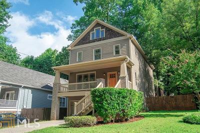 Decatur Single Family Home Under Contract: 2734 Fairlee