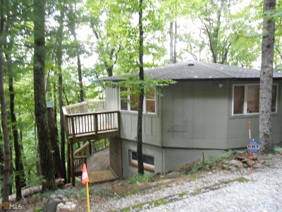 Rabun County Single Family Home For Sale: 359 Curt Dotson