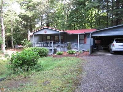Hiawassee Single Family Home Under Contract: 1133 Poplar Ridge Rd