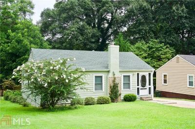 Hapeville Single Family Home For Sale: 285 Birch St