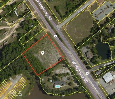 Statesboro Residential Lots & Land For Sale: Highway 80 W