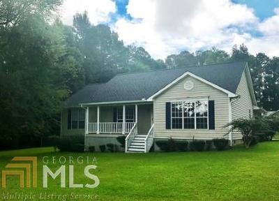 Haddock, Milledgeville, Sparta Single Family Home For Sale: 160 NE Bill Johnson Rd
