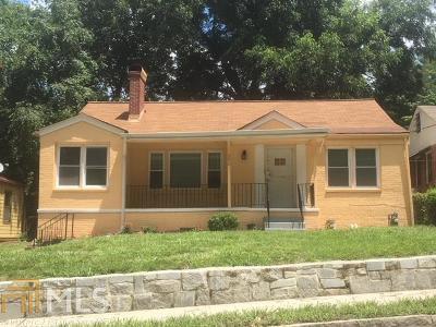 Atlanta Single Family Home New: 150 Burbank