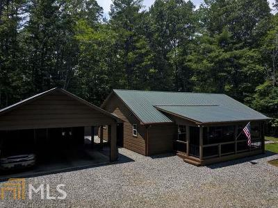 Blairsville Single Family Home Under Contract: 345 Morning Side Dr