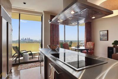 Plaza Towers Condo/Townhouse For Sale: 2575 Peachtree Rd #22F