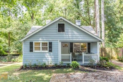 Decatur Single Family Home Under Contract: 531 Daniel Ave