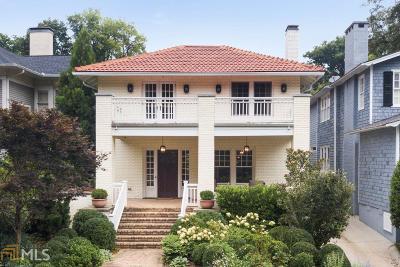 Atlanta Single Family Home For Sale: 52 Westminster Dr