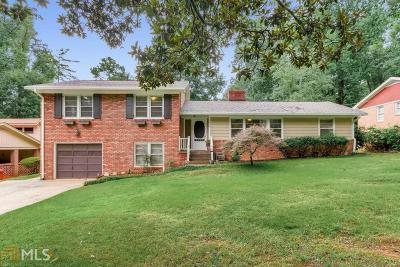 Decatur Single Family Home Under Contract: 2376 Heather Dr