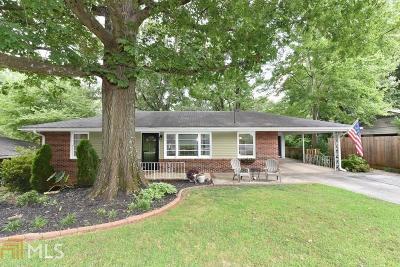 Decatur Single Family Home New: 896 Gaylemont Cir