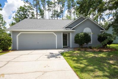 Kingsland GA Single Family Home Under Contract: $138,000