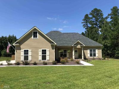 Statesboro Single Family Home For Sale: 104 Spendoll Ct #Lot 39