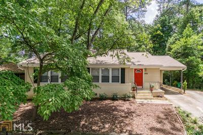 Decatur Single Family Home New: 1475 Clairmont Rd
