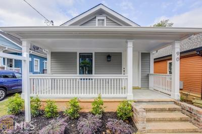 Old Fourth Ward Single Family Home For Sale: 90 Bradley St
