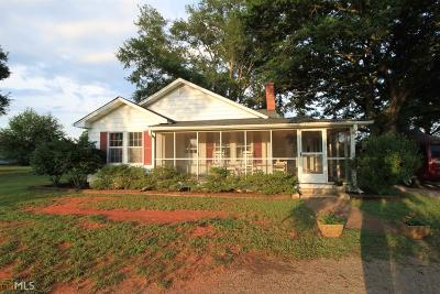 Elbert County, Franklin County, Hart County Single Family Home Under Contract: 13410 Highway 106