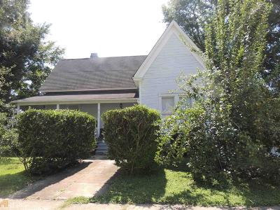 Elberton GA Single Family Home For Sale: $89,900