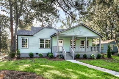 Hapeville Single Family Home For Sale: 3074 Old Jonesboro