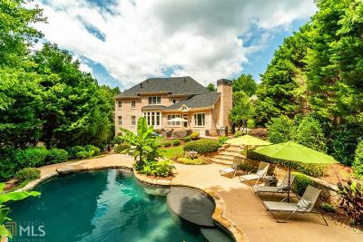 Roswell Single Family Home Under Contract: 360 Plantation Way