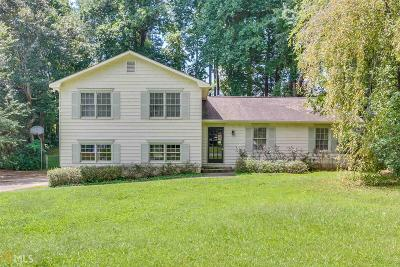 Roswell Single Family Home Under Contract: 4375 Old Mabry