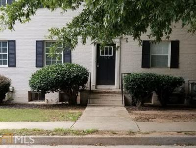 Decatur Condo/Townhouse Under Contract: 1182 Church St #3