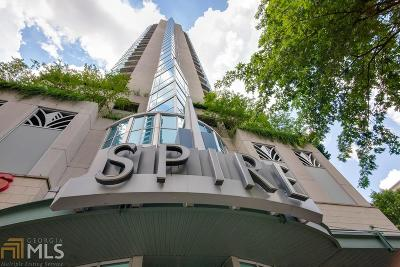 Spire Condo/Townhouse For Sale: 860 Peachtree St #805