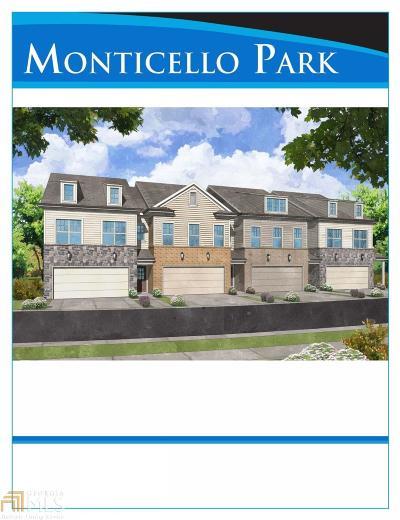 Atlanta Condo/Townhouse New: 521 Jefferson Chase St #504