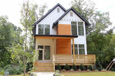 Atlanta Single Family Home New: 1676 Carroll Dr