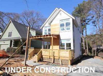 Atlanta Single Family Home New: 1665 Laurel Ave