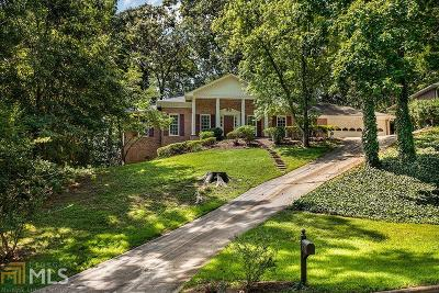 Roswell Single Family Home For Sale: 475 Wickerberry Ln