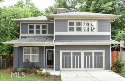 Atlanta Single Family Home New: 1358 Hardee St