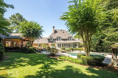 Dunwoody Single Family Home Under Contract: 1855 Vermack Ct