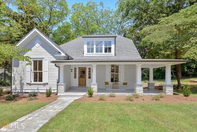 Marietta Single Family Home New: 112 Stewart Ave