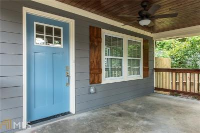 Atlanta Single Family Home New: 1317 Fairbanks St