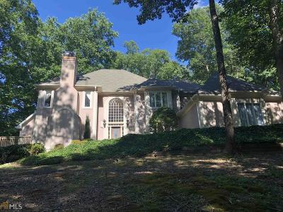 Roswell Single Family Home For Sale: 625 Danas Ridge Dr