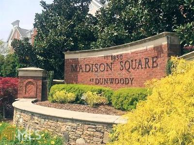 Dunwoody Condo/Townhouse New: 1850 Cotillion Dr #3112