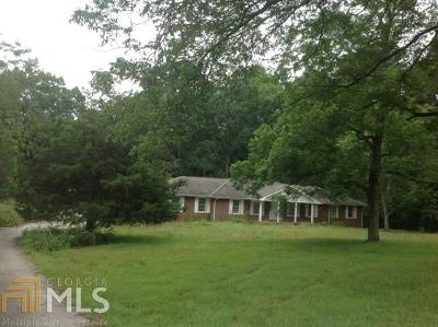 Social Circle Single Family Home Under Contract: 2090 Lipscomb Rd