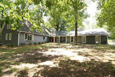 Monroe, Social Circle, Loganville Single Family Home For Sale: 6355 Highway 20