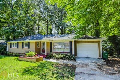 Decatur Single Family Home Under Contract: 3065 Del Monico Dr