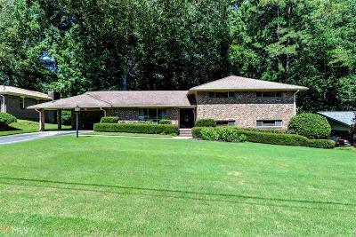 Atlanta Single Family Home New: 1542 High Haven Ct