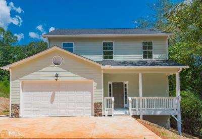 Dawsonville Single Family Home New: 245 Moss Overlook Rd