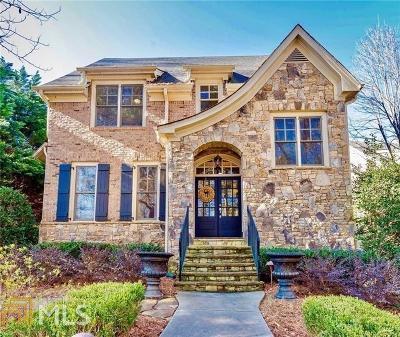 Atlanta Single Family Home New: 2480 Ridgewood Rd