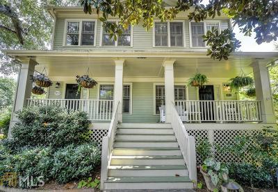 Atlanta Condo/Townhouse Under Contract: 827 Edgewood Ave #A