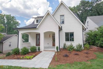 Atlanta Single Family Home New: 726 Hillpine Dr