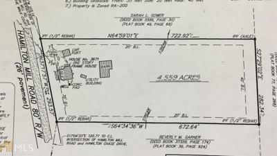 Buford Residential Lots & Land For Sale: 3671 Hamilton Mill Rd