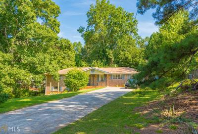 Douglasville Single Family Home Under Contract: 6126 Knights Ln