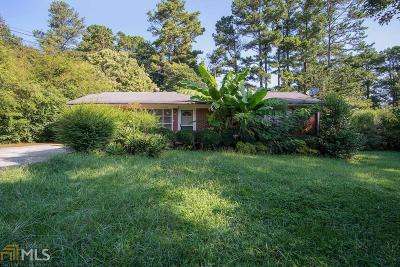Decatur Single Family Home New: 4322 Mercer Rd