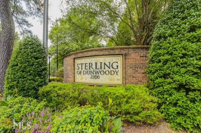 Dunwoody Condo/Townhouse Under Contract: 2300 Peachford Rd #2203